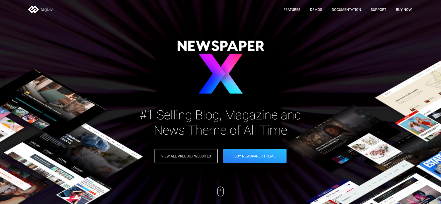 Newspaper 11.3.1 – Selling Blog and News Theme of All Time