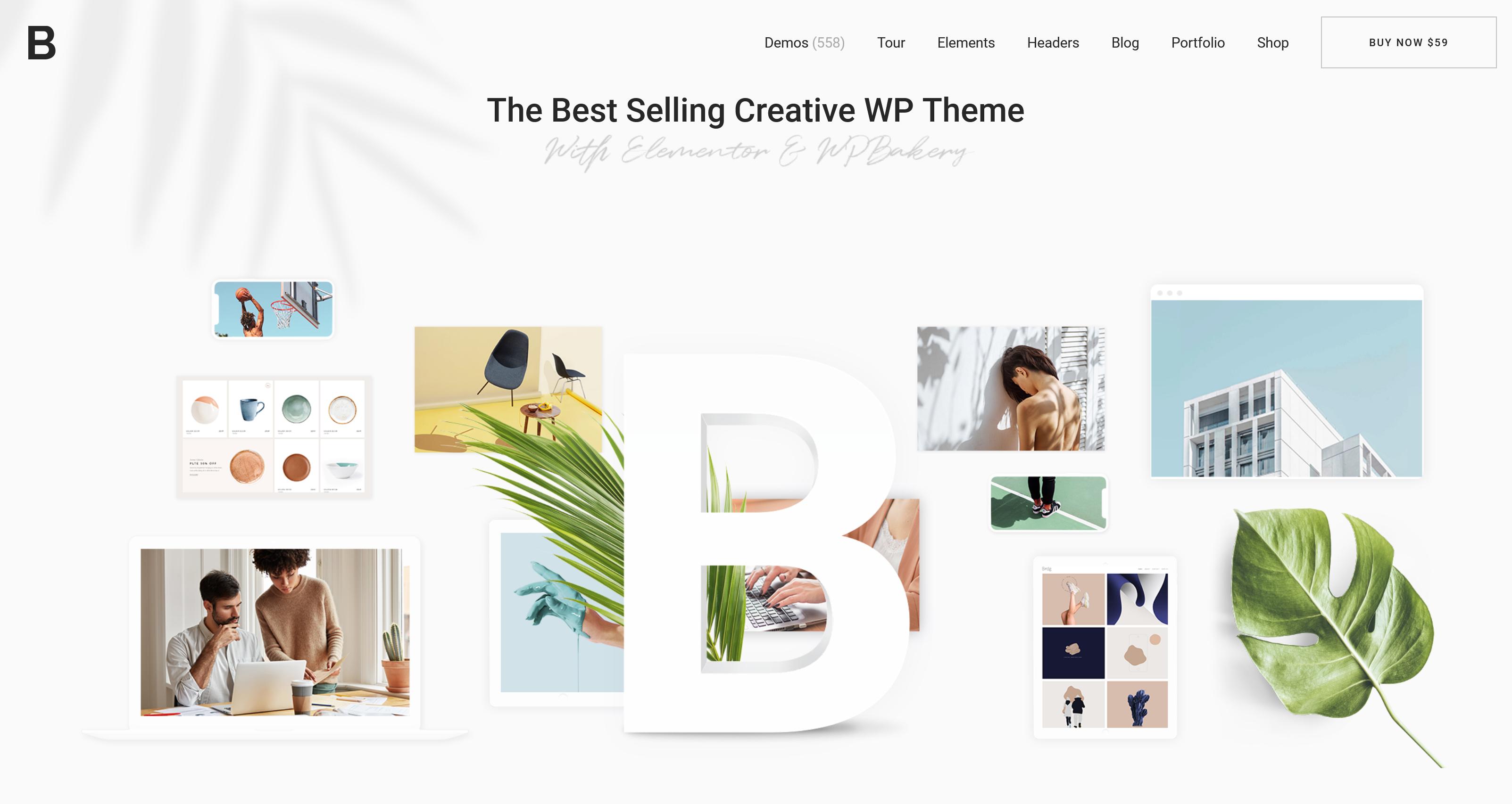 Bridge 27.4 – Creative Multipurpose WordPress Theme