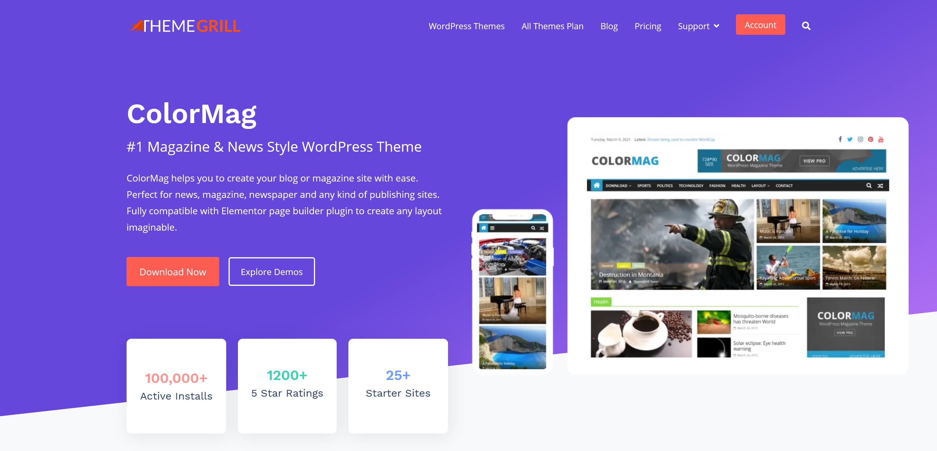 ColorMag Pro 3.1.4 – Magazine & News Style WordPress Theme