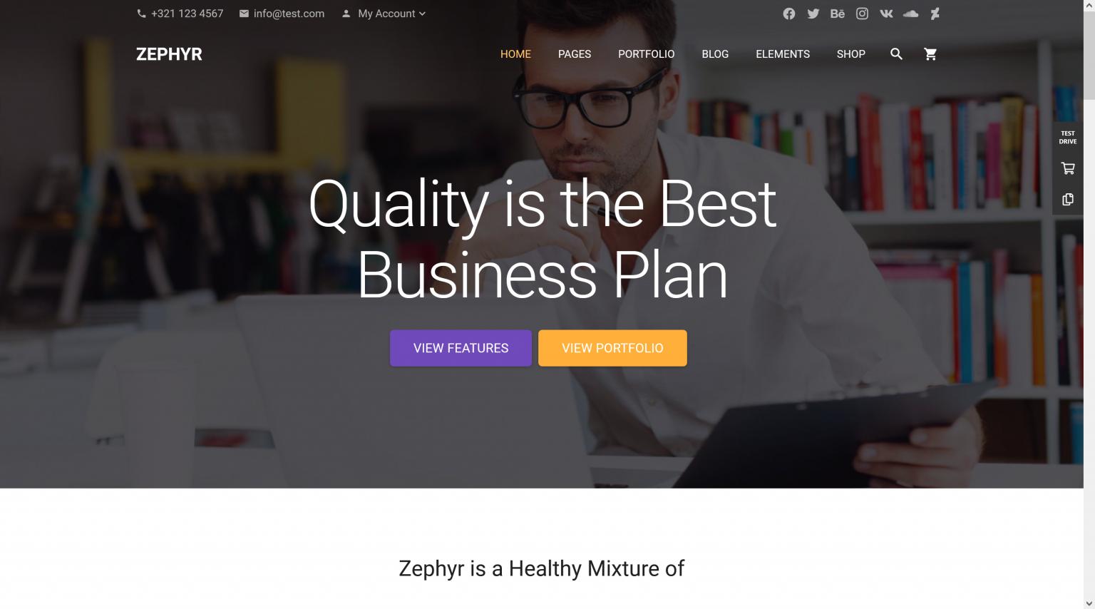 Zephyr Material Design Theme 8.3.2