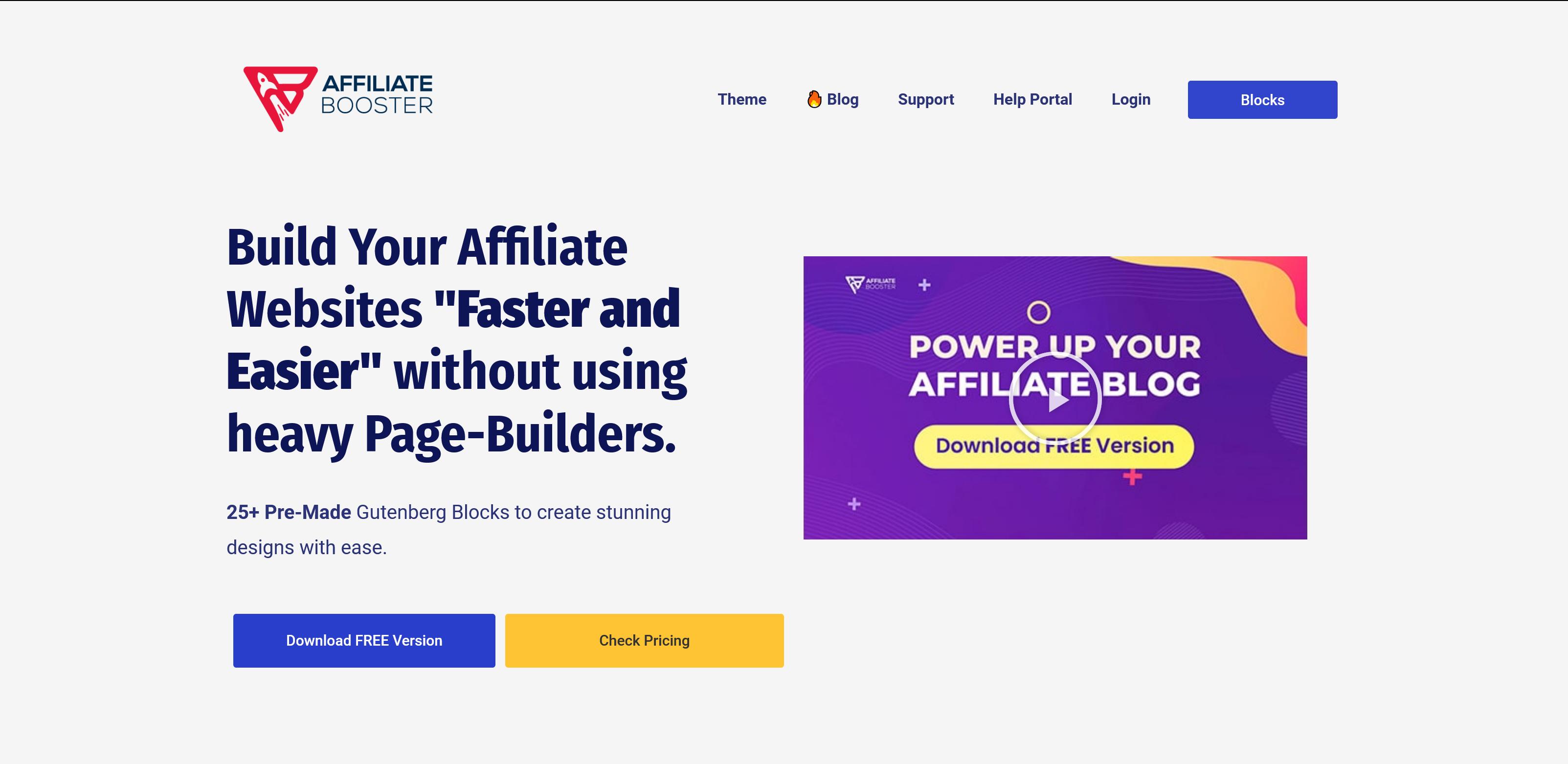 Affiliate Booster Theme 2.0.52+v2.1.6 Block for Affiliate Blogger