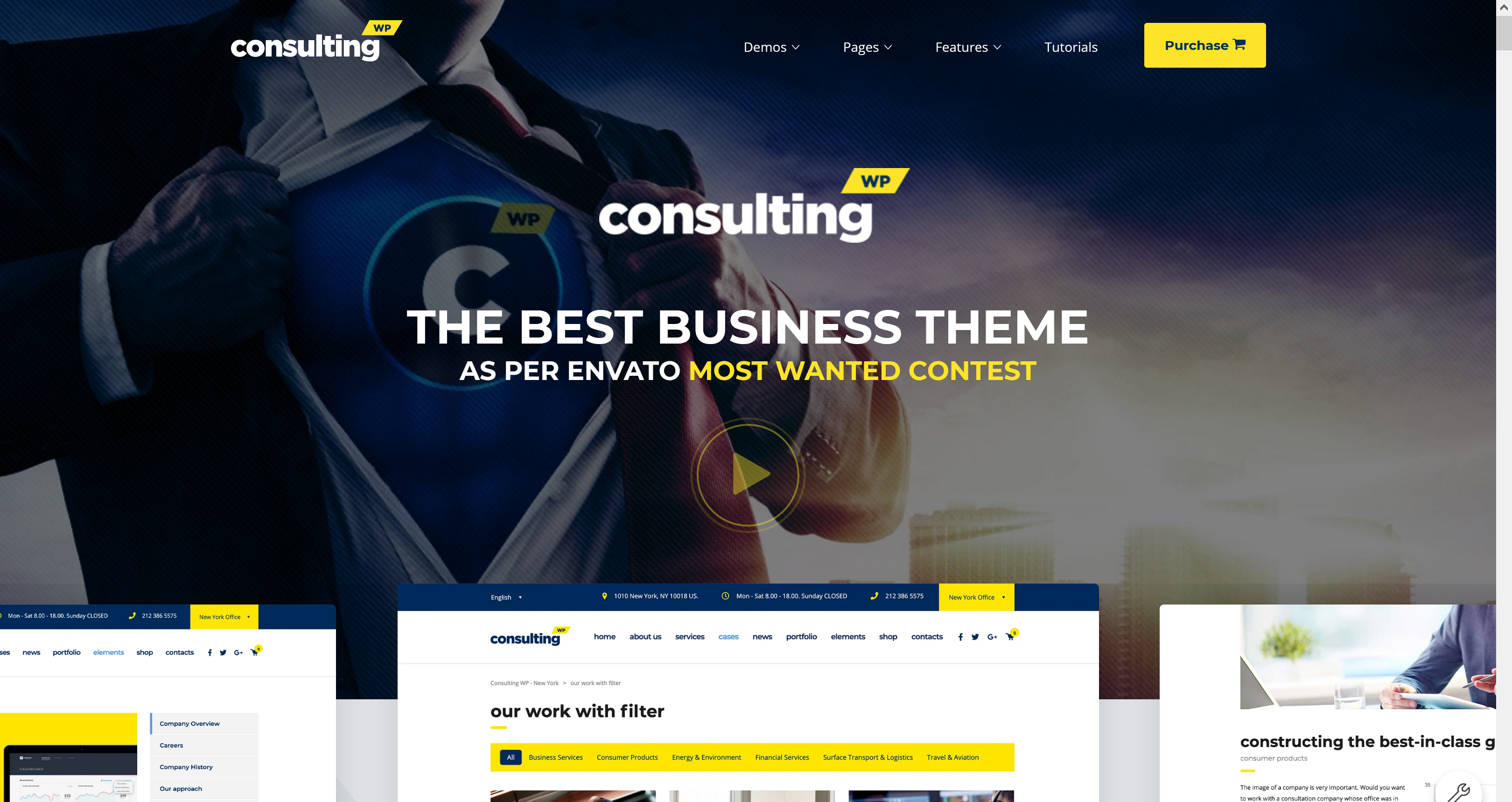 Consulting 6.1.9 – Business WordPress Theme