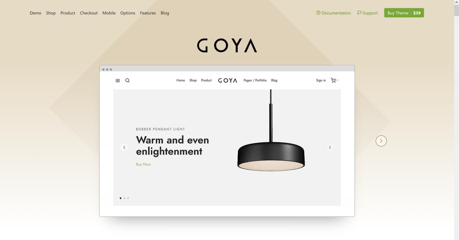 Goya 1.0.6.5 – Modern WooCommerce Theme
