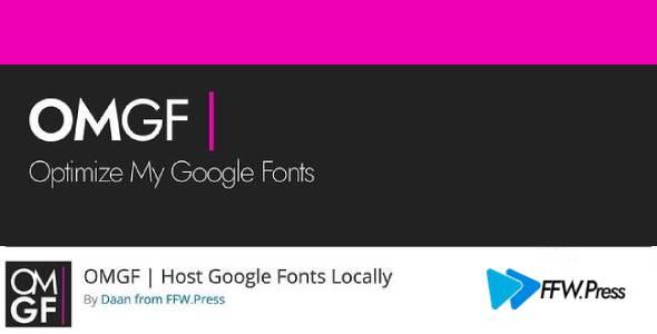 OMGF Pro 3.0.2 – Host Google Fonts Locally
