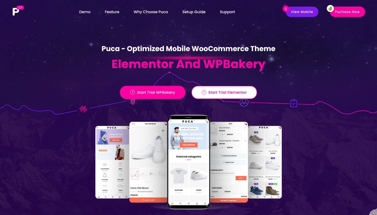Puca 2.4.7 – Mobile WooCommerce Theme