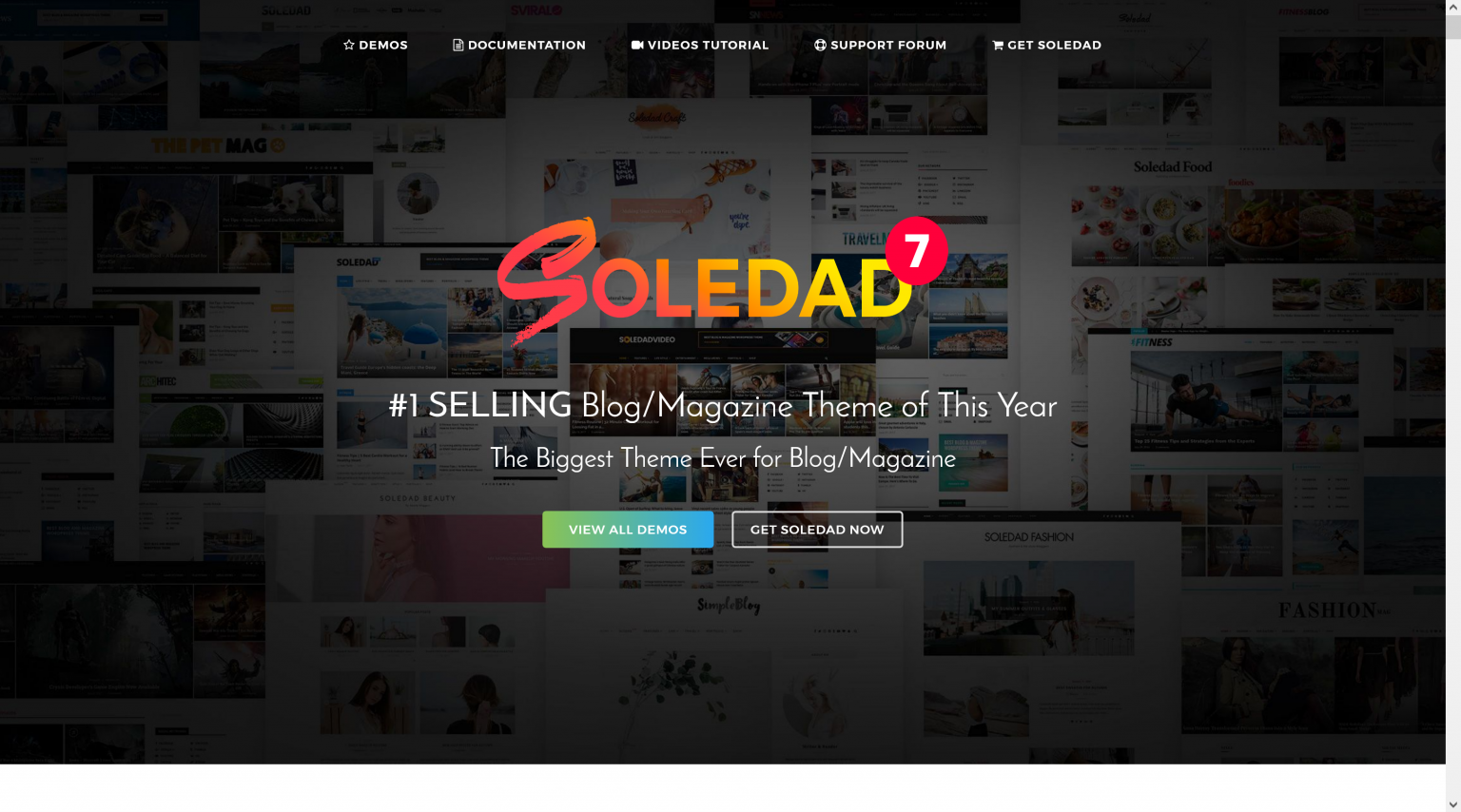 Soledad 8.0.2 – Blog Magazine Theme