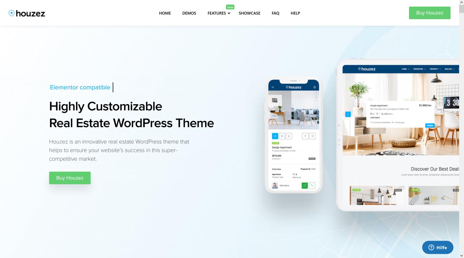 Houzez 2.4.0 – Real Estate WordPress Theme