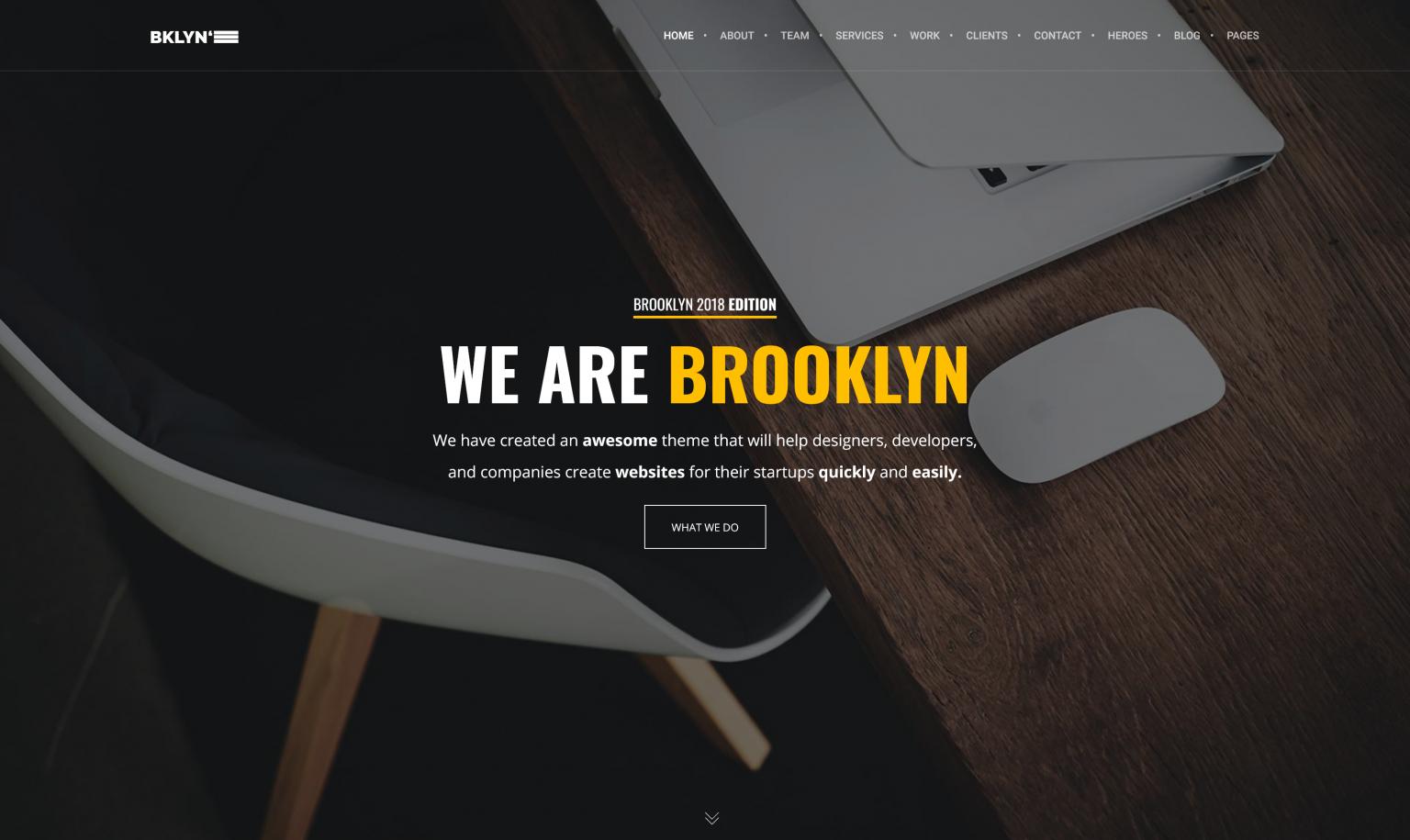 Brooklyn 4.9.7.2 – Creative WordPress Theme